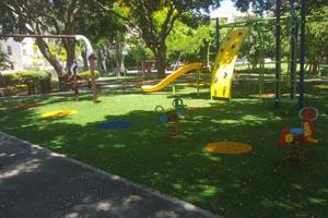 דשא סינטטי לגן ילדים
