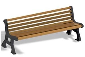 ספסל רחוב תומר