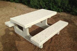 שולחן פיקניק מבטון