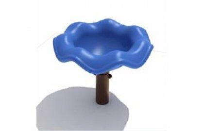 סביבון פרח כחול