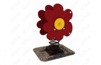 דמות קפיץ פרח