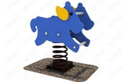 דמות קפיץ פרה מקפצת
