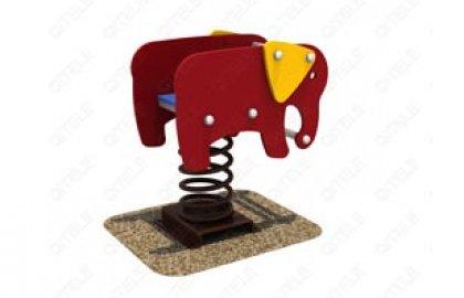 דמות קפיץ דופן כפולה פיל